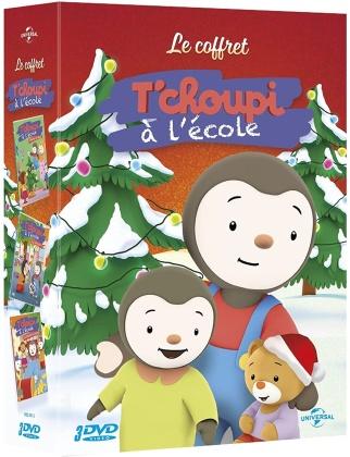 T'choupi à l'école - Le carnaval / L'étoile de Noël / La chasse au trésor (3 DVD)