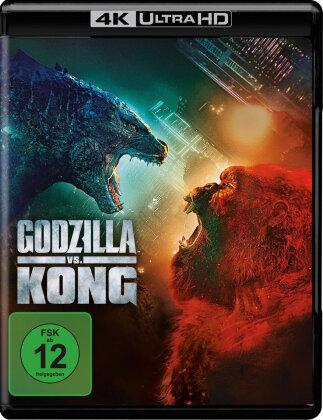 Godzilla vs. Kong (2021) (4K Ultra HD + Blu-ray)