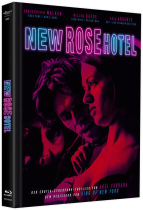 New Rose Hotel (1998) (Cover A, Limited Edition, Mediabook, Blu-ray + DVD)