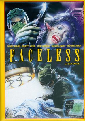 Faceless (1987) (Wattiert, Collector's Edition, Limited Edition, Mediabook, Uncut, Blu-ray + DVD)