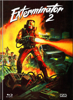 Exterminator 2 (1984) (Cover D, Limited Collector's Edition, Mediabook, Uncut, Blu-ray + DVD)