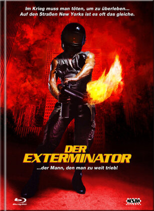 Der Exterminator (1980) (Cover D, Limited Collector's Edition, Mediabook, Remastered, Uncut, Blu-ray + DVD)