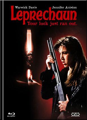 Leprechaun (1993) (Cover B, Limited Collector's Edition, Mediabook, Blu-ray + DVD)