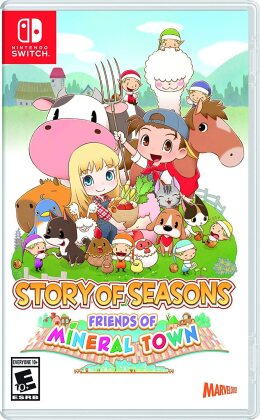 Ps4 Story Of Seasons - Friends Of Mineral Town