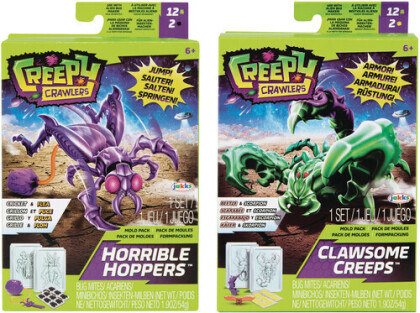 Jakks Pacific - Creepy Crawlers Alien Bug Creator Mold Pack W1 Ass