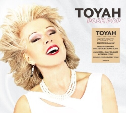 Toyah - Posh Pop (Signed, Edizione Limitata)