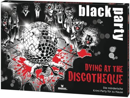 black party Dying at the Discotheque (Spiel)