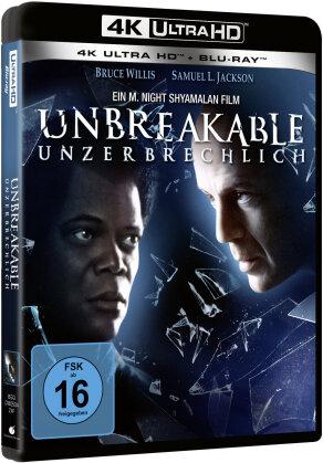 Unbreakable - Unzerbrechlich (2000) (4K Ultra HD + Blu-ray)