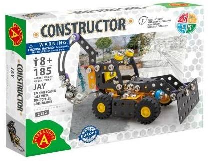 """Constructor - Baggerlader """"Jay"""" - 185 Teile"""