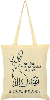 Kawaii Bunny: We Are the Weirdos Mister - Cream Tote Bag