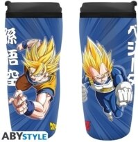 Mug de voyage - Dragon Ball Z - Goku & Vegeta - 18 cm - 355 ml