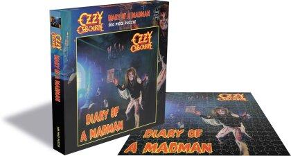 Ozzy Osbourne - Diary Of A Madman (500 Piece Jigsaw Puzzle)