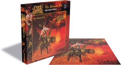 Ozzy Osbourne - The Ultimate Sin (500 Piece Jigsaw Puzzle)