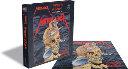Metallica - Harvester Of Sorrow (500 Piece Jigsaw Puzzle)