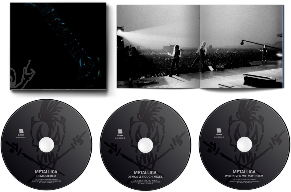 Metallica - --- (2021 Reissue, Box, Remastered, 3 CDs)