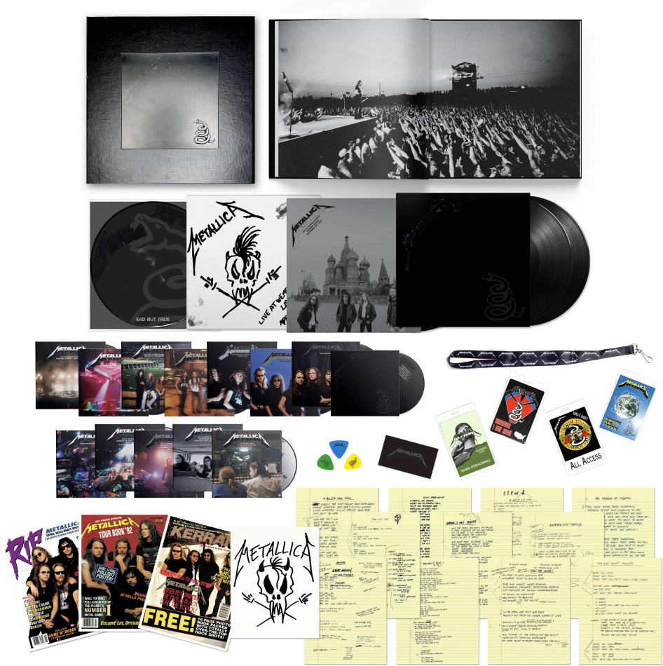 Metallica - --- (Superdeluxe, Boxset, Limited Edition, Remastered, 6 LPs + 14 CDs + 5 DVDs)