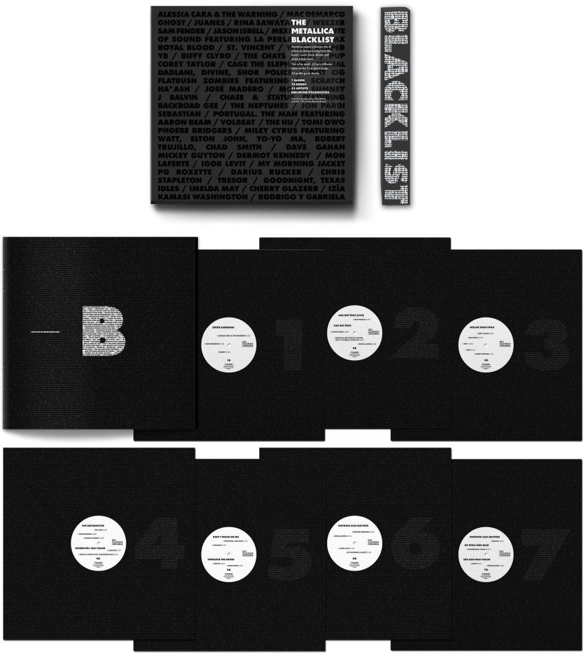 The Metallica Blacklist (7 LPs)