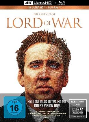 Lord of War - Händler des Todes (2005) (Collector's Edition Limitata, Mediabook, 4K Ultra HD + Blu-ray)