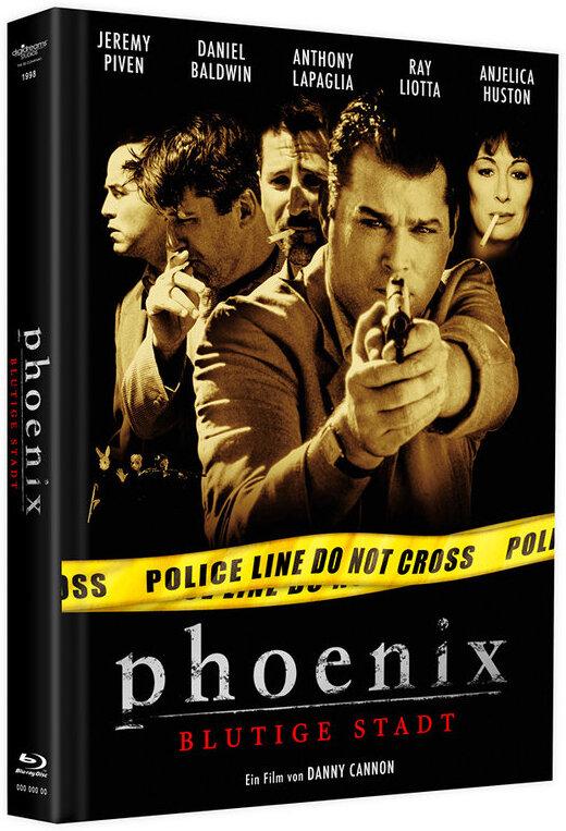 Phoenix - Blutige Stadt (1998) (Limited Edition, Mediabook, Blu-ray + DVD)