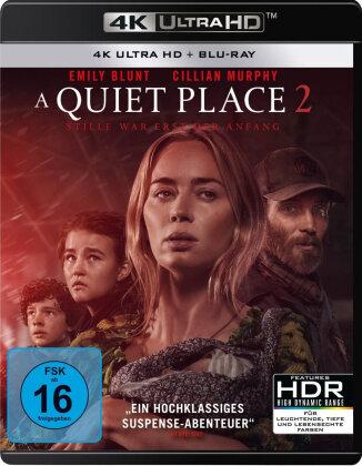 A Quiet Place 2 (2020) (4K Ultra HD + Blu-ray)