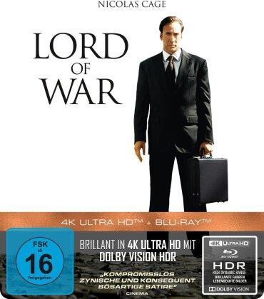 Lord of War - Händler des Todes (2005) (Edizione Limitata, Steelbook, 4K Ultra HD + Blu-ray)