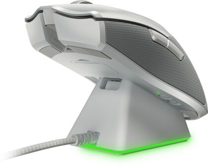 Razer Viper Ultimate Mouse + Dock - mercury white