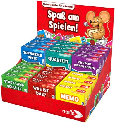 Mini Spielklassiker 6-sort. (Kinderspiel)