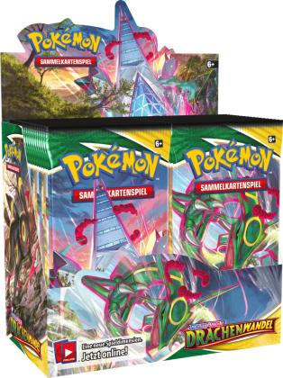 Pokémon (Sammelkartenspiel) - PKM SWSH07 Drachenwandel Booster