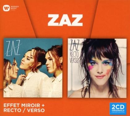 Zaz - Coffret: Effet miroir & Recto verso (2 CDs)