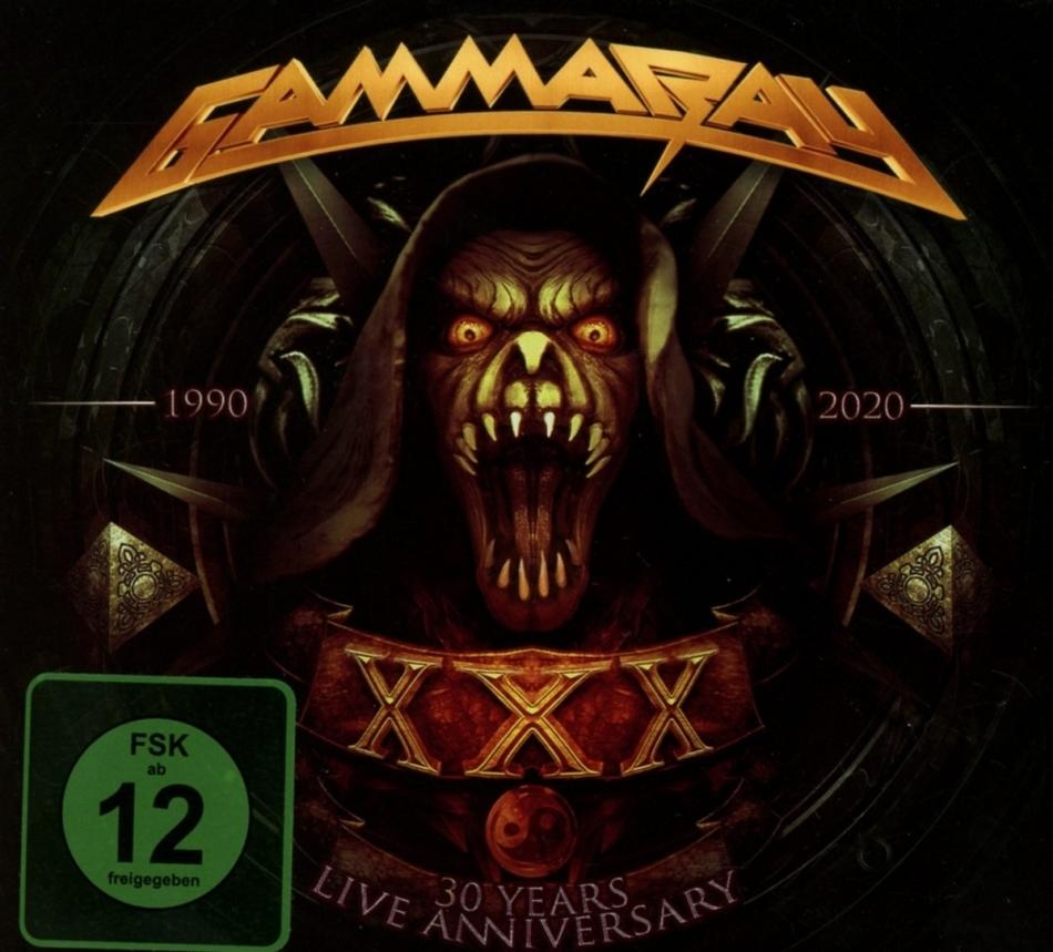Gamma Ray - 30 Years - Live Anniversary (2 CDs + DVD)