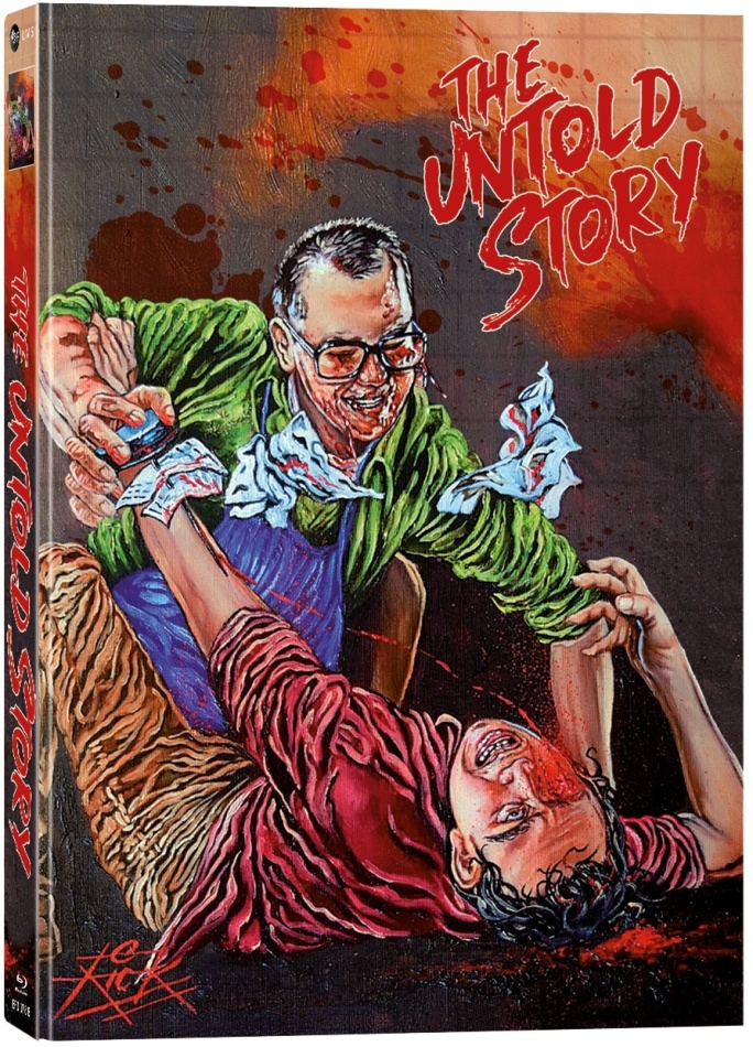 The Untold Story (1993) (Cover B, Limited Collector's Edition, Mediabook, Uncut, Blu-ray + 2 DVDs)