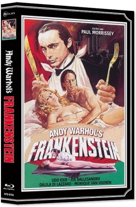 Andy Warhol's Frankenstein (1973) (Wattiert, Limited Edition, Mediabook, Blu-ray + DVD)