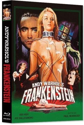 Andy Warhol's Frankenstein (1973) (Cover B, Limited Edition, Mediabook, Blu-ray + DVD)