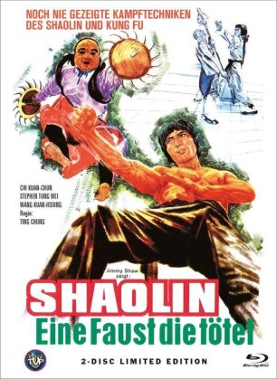 Shaolin - Eine Faust die tötet (1977) (Cover A, Limited Edition, Mediabook, Blu-ray + DVD)