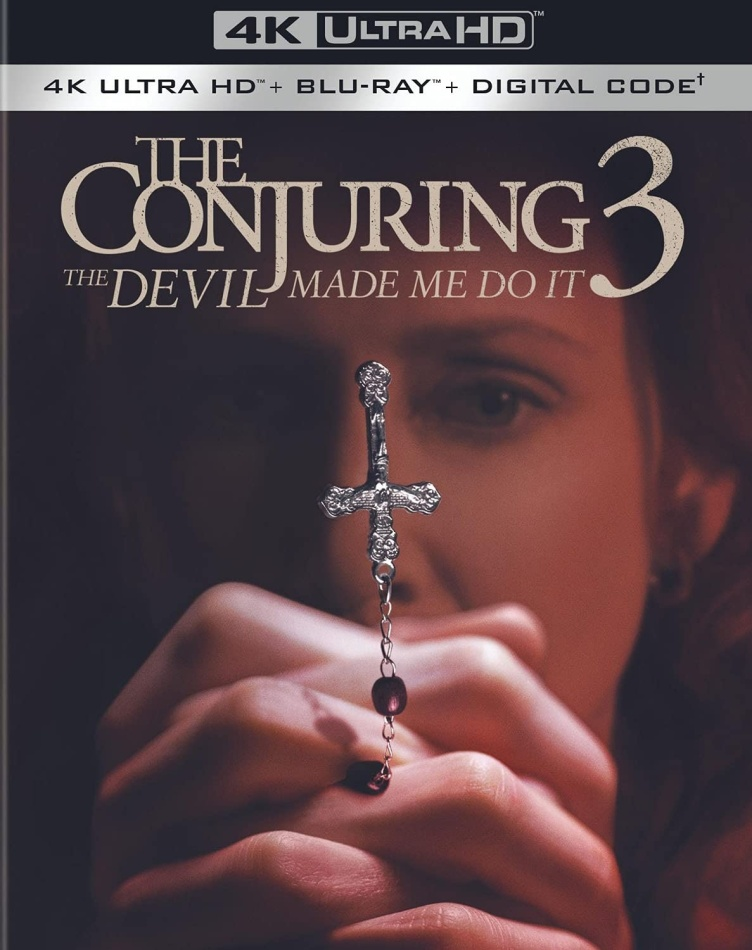 The Conjuring 3 - The Devil Made Me Do It (2021) (4K Ultra HD + Blu-ray)