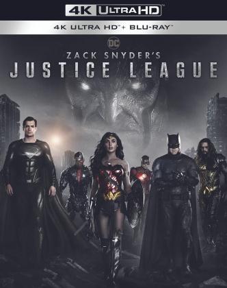 Zack Snyder's Justice League (2021) (2 4K Ultra HDs + 2 Blu-rays)