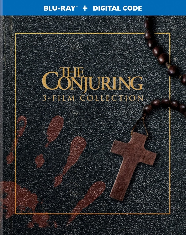 The Conjuring - 3 FIlm Collection (3 Blu-rays)