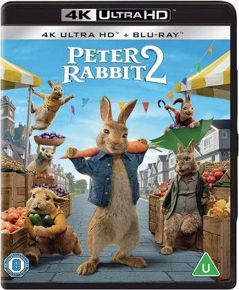Peter Rabbit 2 (2021) (4K Ultra HD + Blu-ray)