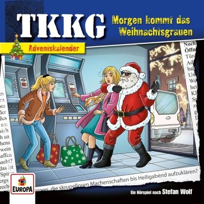 TKKG - Morgen kommt das Weihnachtsgrauen (Adventskalender (2 CDs)