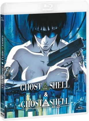 Ghost in the Shell & Ghost in the Shell 2.0 (2 Blu-rays)