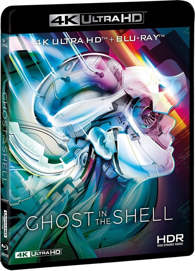 Ghost in the Shell (1995) (Neuauflage, 4K Ultra HD + Blu-ray)