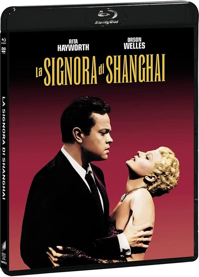 La signora di Shanghai (1947) (Il Collezionista, s/w, Blu-ray + DVD)