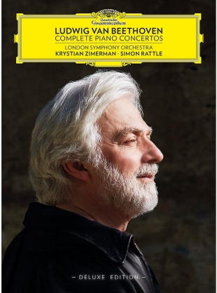Ludwig van Beethoven (1770-1827), Sir Simon Rattle, Krystian Zimerman & London Symphony Orchestra - Complete Piano Concertos (Deluxe Edition, 3 CDs + Blu-ray)