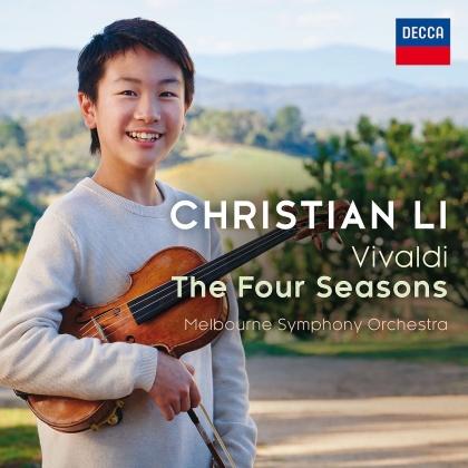 Melbourne Symphony Orchestra, Antonio Vivaldi (1678-1741) & Christian Li - The Four Seasons