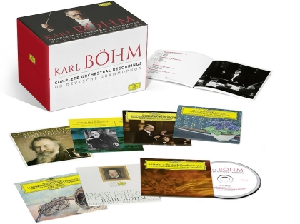 Karl Böhm - Complete Orchestral Music (+ 1 Bluray-Audio, Limited Edition, 67 CDs + Blu-ray)