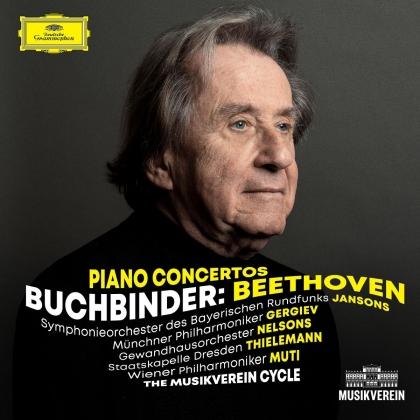 Ludwig van Beethoven (1770-1827) & Rudolf Buchbinder - Complete Piano Concertos (3 CDs)