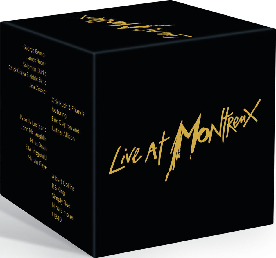 Various Artists - Live at Montreux (15 DVD)