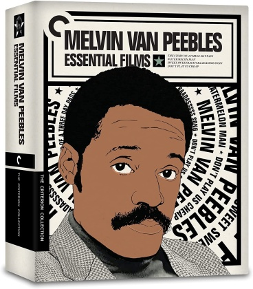 Melvin Van Peebles - Essential Films (Criterion Collection, 5 Blu-rays)