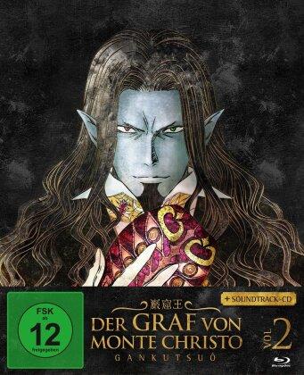 Der Graf von Monte Christo - Gankutsuô - Vol. 2 (Ep. 9-16) (2004) (Blu-ray + CD)