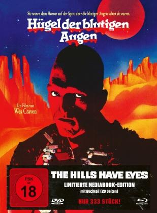 Hügel der blutigen Augen (1977) (Cover A, Edizione Limitata, Mediabook, Blu-ray + DVD)